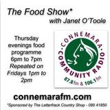 Connemara Community Radio - 'The Food Show' with Janet O'Toole - 22nov2018