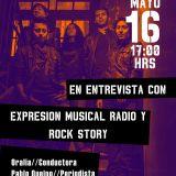 ¨DiseL... La Entrevista¨ por Expresión Musical Radio y ROCK STORY viernes 16 de mayo de 2014