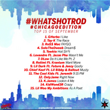 #WhatsHotRod #ChicagoEdition Top 15 Sept.