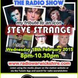 RW014 - THE JOHNNY NORMAL RADIO SHOW 'STEVE STRANGE TRIBUTE SHOW' - 18TH FEB 2015