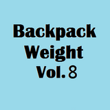 Backpack Weight Vol.8