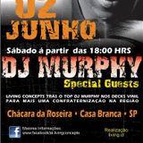 DJ Murphy - Live @ Living Concepts, Casa Branca, Brasil (02.06.2012)