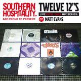 Twelve 12's Live Vinyl Mix: 07 - Matt Evans