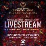 Dimitri Vegas & Like Mike - Live @ Tomorrowland Presents: Garden of Madness 2018