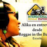 Alika en entrevista para International Regga Station