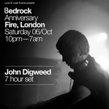 John Digweed - Live at Bedrock Anniversary party, Fire & Lightbox, London, UK (06-10-2012) Part1