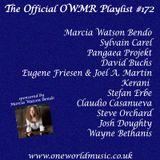 Playlist #172 Sponsored by Marcia Watson Bendo