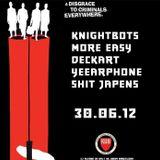 KNBTZ @ KGB w/ Shit Japens, Yeearphone, Deckart & More Easy