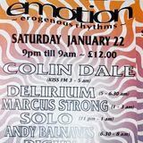 COLIN DALE Live Set EMOTION 94