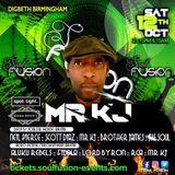 Mr Kj LIVE @ Soul Fusion Birmingham AFRO HOUSE / BROKEN BEAT Arena 12/10/19