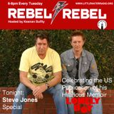Rebel Rebel 01.24.17 w/ Keanan Duffty and guest Steve Jones littlewaterradio.com