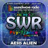 SWR Psy-Trance FM - hosted by Aesis Alien - Episode 025