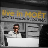 DAVMA @ Live MOET WINTER LOUNGE / 03-01-17