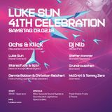 Steffen Hammer at Luke Sun 41th Celebration