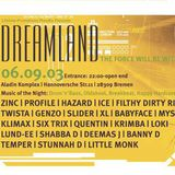 Genzo side a @ Dreamland - Bremen - 06.09.2003-The force will be with you