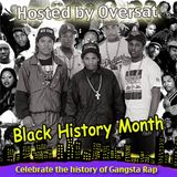 King Doug's Black History Month of Rap Hosted by Oversat