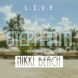 Sunday Brunch Live at Nikki Beach Miami ( Sunday july 26th 2015 )