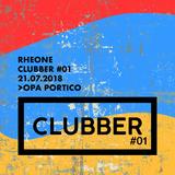 Rheone - Clubber @ OPA Portico 21.07.2018
