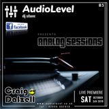 Analog Sessions 03 'Craig Dalzell Live On Vinyl @ AudioLevel' (05/10/2019)