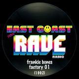 Frankie Bones - Factory 01
