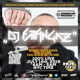 "DJ FATFINGAZ ""100% LIVE ON HOT 97"" SUMMER MIX WEEKEND JULY 14TH 2019"