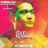 VujáDé Ep xiv feat. DARIN EPSILON // 20.11.15 -- OPENING ACT - Swarup Varma & DjMonks