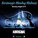 Karisma Presents... The Monday Takeover On No Grief Fm (halloween/birthday night) 31/10/2016