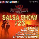 Salsashow 23 - Podcast Septiembre 2017 - Vdj Hacker