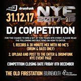 Enter & Drumfunk NYE  DJ COMPETITION ENTRY