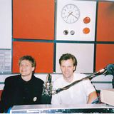 Me on Radio 1 as a token northerner, Radio Clyde and Radio Luxembourg (with visits to Pizza Hut)
