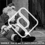 SSMILE - live dj set @ Jack's 04.01.2018