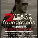 22ndAnniversary  Foundations insmniaFM@Julian Marazuela Guest Mix