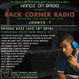 BACK CORNER RADIO: Episode #232 (Aug 18th 2016)