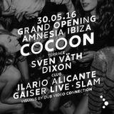 Sven Vath - Live @ Cocoon Grand Opening (Amnesia Ibiza) - 30.MAY.2016