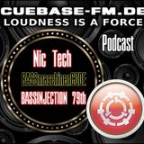 DJane Nic Tech - BASSINJECTION 79 - PODCAST SHOW - Cuebase.fm - 2015