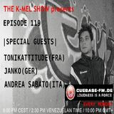 Janko @ The K-MEL SHOW - Cuebase-FM - 02.09.2013