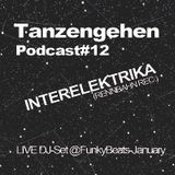 Tanzengehen Podcast #12: Interelektrika @ FunkyBeats-January 2013