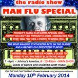 "THE JOHNNY NORMAL ""MAN FLU"" SYNTHY RADIO SHOW 38 - 10TH FEB 2014"