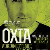 Oxia - Live @ Kristal Glam Club Bucharest (Romania) 2013.02.09.