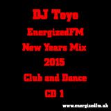 DJ Toyo - EnergizedFM New Years Mix 2015 (Club, Dance) (CD1)