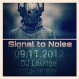 Signal to Noise Nov 2012