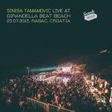 Sinisa Tamamovic - Live at Girandella Beat Beach - Rabac - Croatia - 25-07-2015