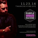 emplate - Live @ Touch for Purple Disco Machine (11.23.16)