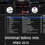 Minimal Tekno mix - Nixo 2015