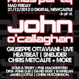 David Rust @ Goodgreef Xmas Party (Digital, Newcastle) [21stDecember2012]