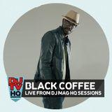 Black Coffee live DJ set from DJ Mag HQ Sessions