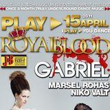Niko Valt Live @ Play Royal Blood At Yalta Club 15 - APR - 2011