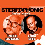 Stereophonic Label Night