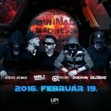 2016.02.19. Szecsei b2b Monolix Live at Minimal Madness at UP! the Club - Friday