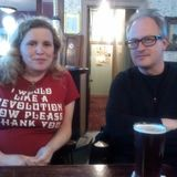 June 1, 2015 Robin Ince and Claire Sheppard of Nunhead WI